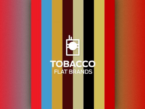 Tobbacco Flat Brands