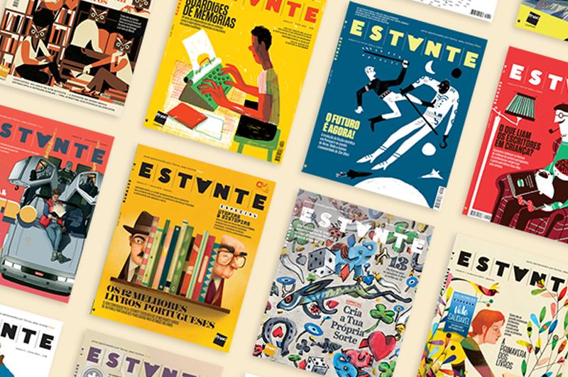 Revista Estante ganha prémio de design