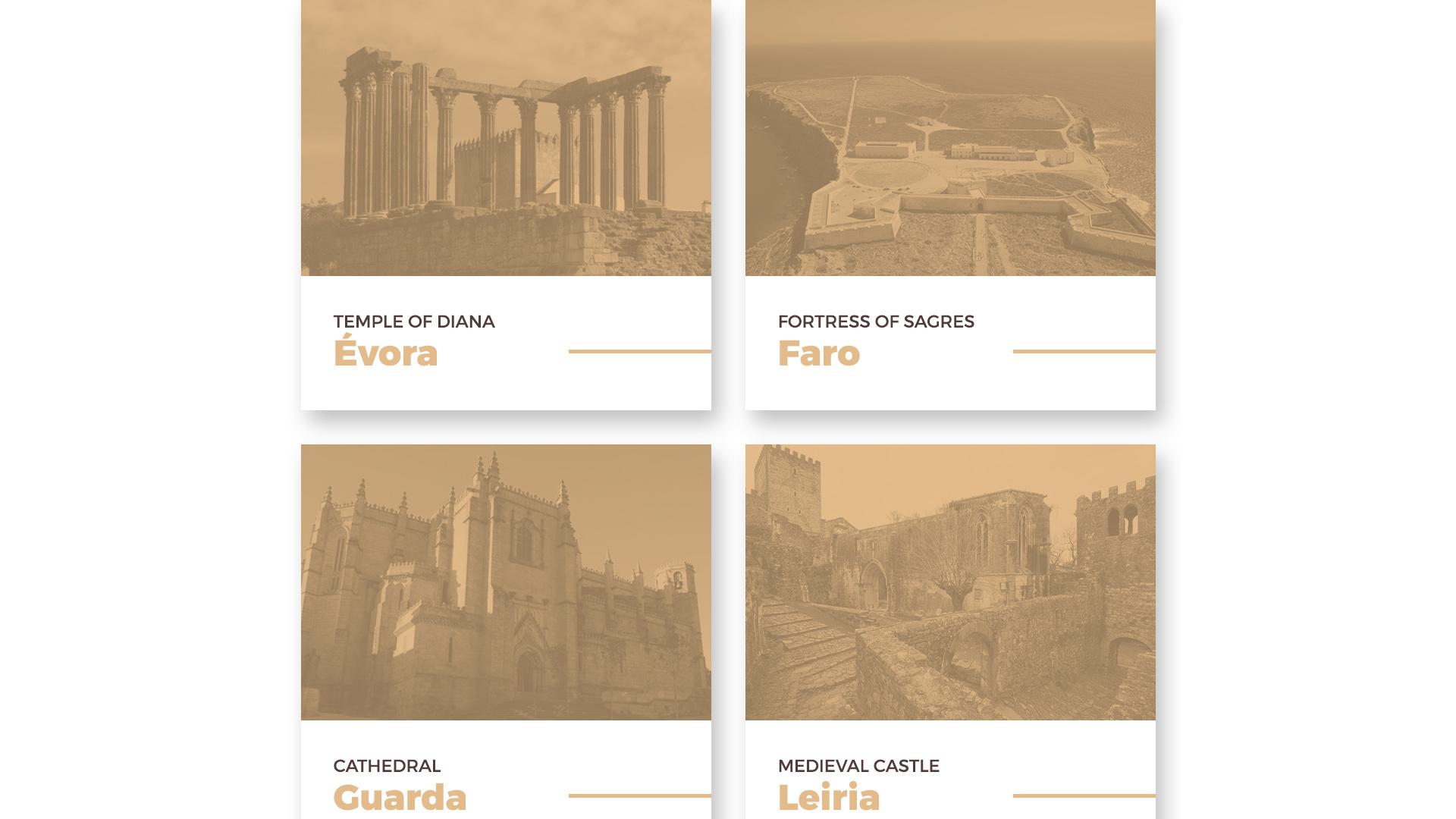 Header 3 - Monumentos Históricos de Portugal