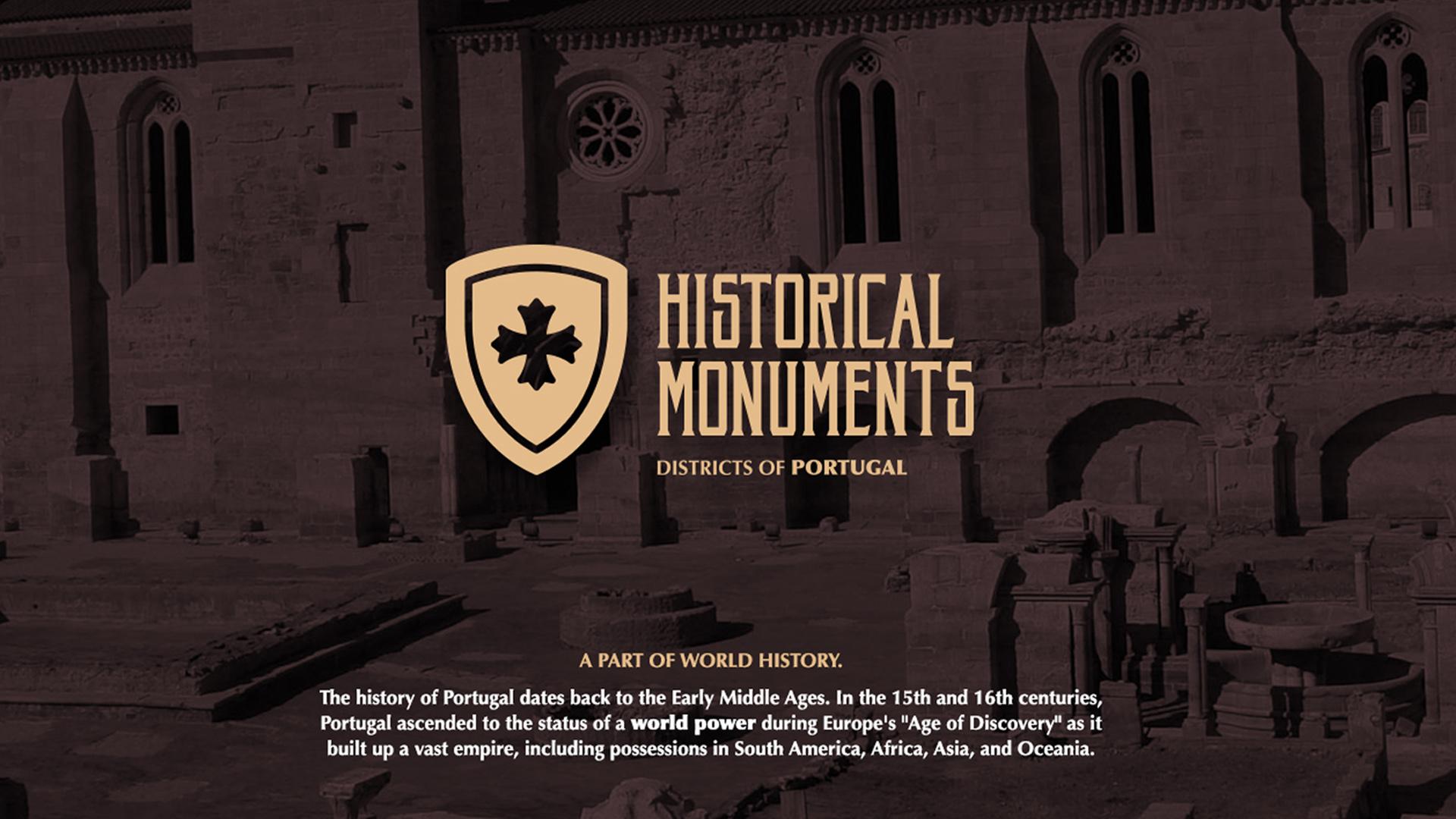 Header 1 - Monumentos Históricos de Portugal